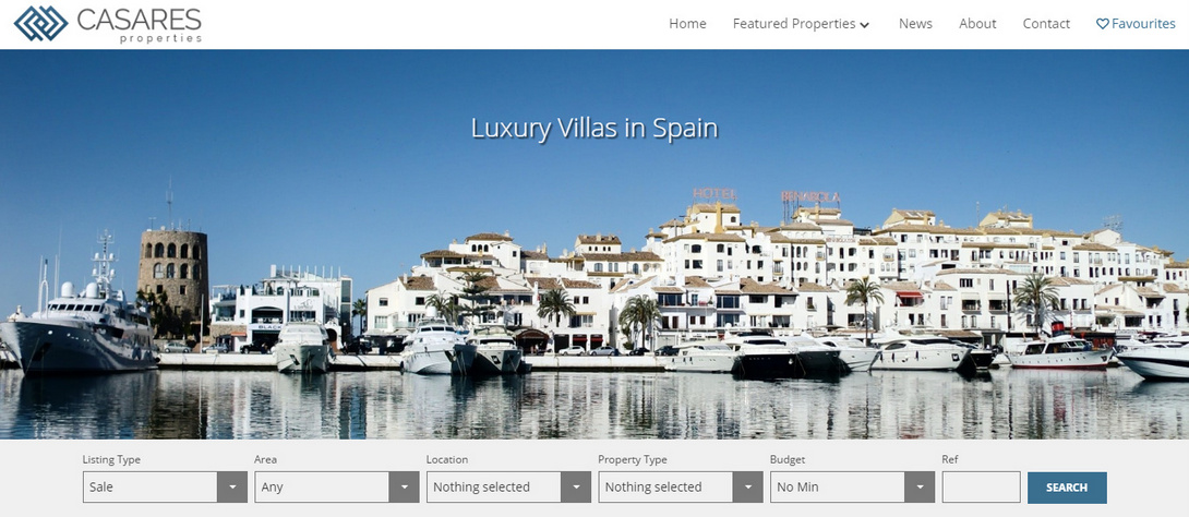 Casares Properties Theme for QRES Cloud and QRES On Demand